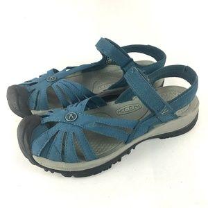 KEEN Rose Sport Sandal Slate Blue 8.5